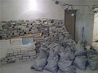 Вынос мусора во время производства работ