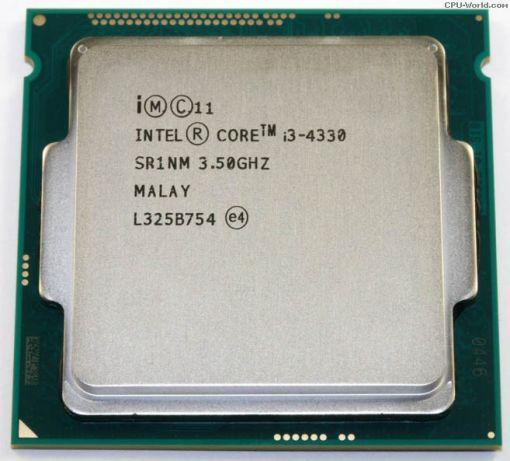 Процесор Intel Core i3-4330 3.50 GHz, s1150, tray