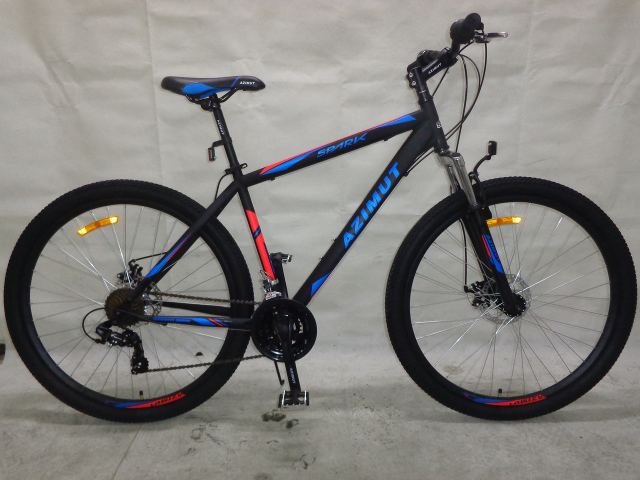 Горный подростковый велосипед 26 дюйма  Azimut Spark  в максимальной к