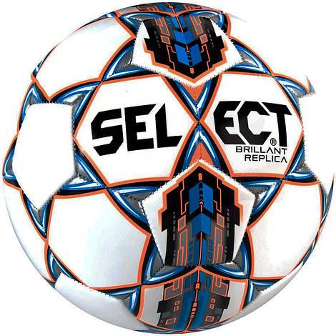 Футбольный мяч Select Brillant Replica new размер 3