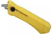 Нож для пластика и ламината Stanley с выдвижным лезвием., L=145 мм STHT0-10192