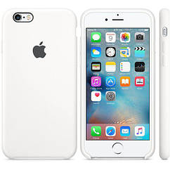 Чехол for Apple iPhone 6/6s Silicone Case White (MKY12)