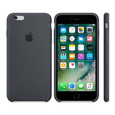Чехол OEM for Apple iPhone 6/6s Silicone Case Charcoal Gray (MKY02)