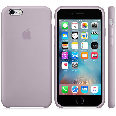 Чехол OEM for Apple iPhone 6/6s Silicone Case Lavender (MLCV2)