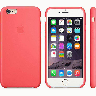 Чехол OEM for Apple iPhone 6/6s Silicone Case Pink (MGXT2)