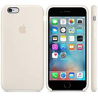 Чехол for Apple iPhone 6/6s Silicone Case Antique White (MLCX2)