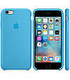 Чехол OEM for Apple iPhone 6/6s Silicone Case Blue (MKY52), фото 2
