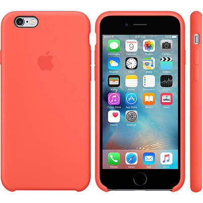 Чехол OEM for Apple iPhone 6/6s Silicone Case Apricot (MM642)