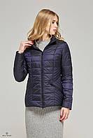Стильная женская демисезонная куртка К-63 хамелеон., фото 1