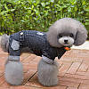 """Комбинезон джинсовый теплый """"Стиляга"""", толстовка для собаки. Одежда для собак , фото 5"""