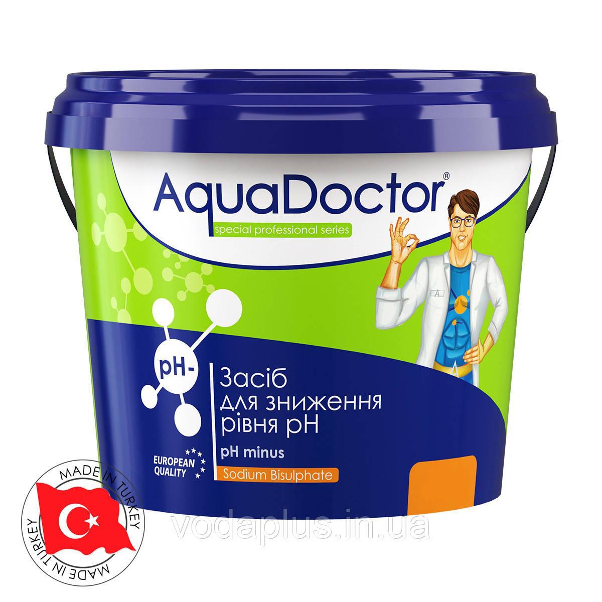 Средство для понижения уровня рН AquaDoctor pH Minus 25 кг