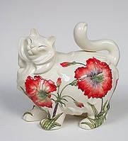Фарфоровая статуэтка Кошка (Pavone) JP-155/10