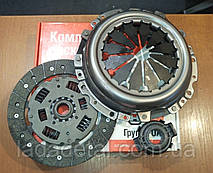 Комплект сцепления ВАЗ 2112  2110 16 клапанов (корзина, диск, подшипник) ОАТ