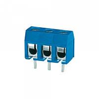 Клеммник 3х контактный, 5мм, прямой (DG301-5.0-03P)