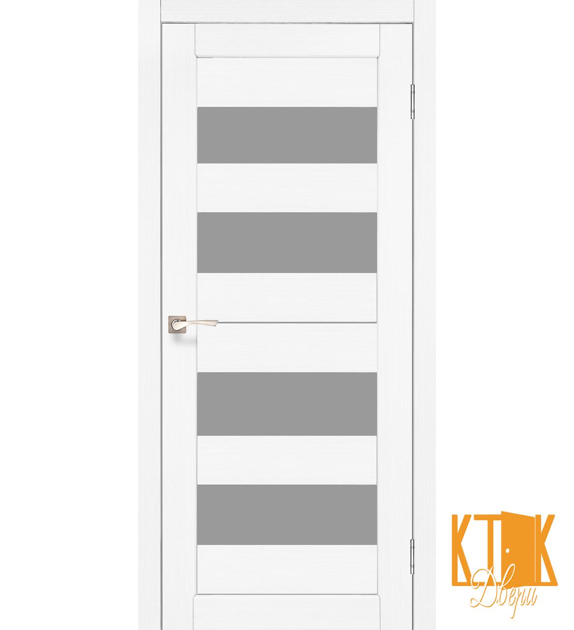 """Межкомнатная дверь коллекции """"Porto"""" PR-07 (ясен белый"""