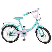 Детский двухколесный велосипед для девочкиPROFI 20 дюймов бирюзовый (цвет мята), Y2012 Princess