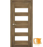 """Межкомнатная дверь коллекции """"Porto"""" PR-07 (дуб браш)"""