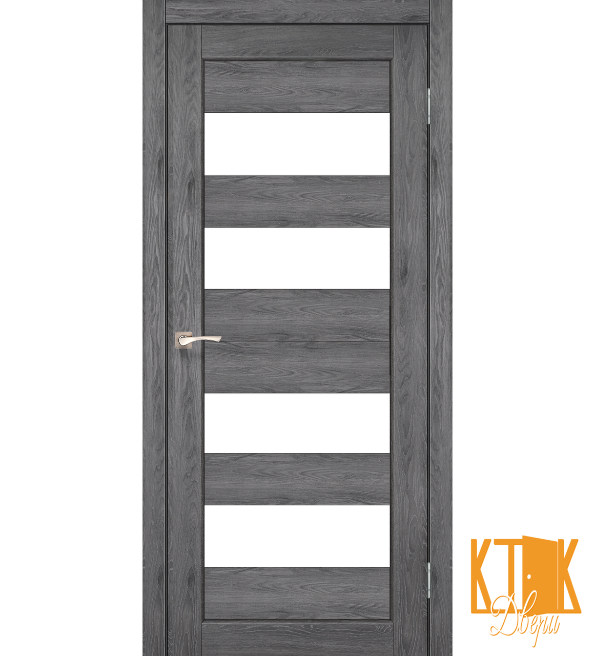 """Межкомнатная дверь коллекции """"Porto"""" PR-07 (дуб марсала)"""