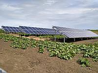 Сетевая солнечная станция 30 кВт (Amerisolar+Altek)
