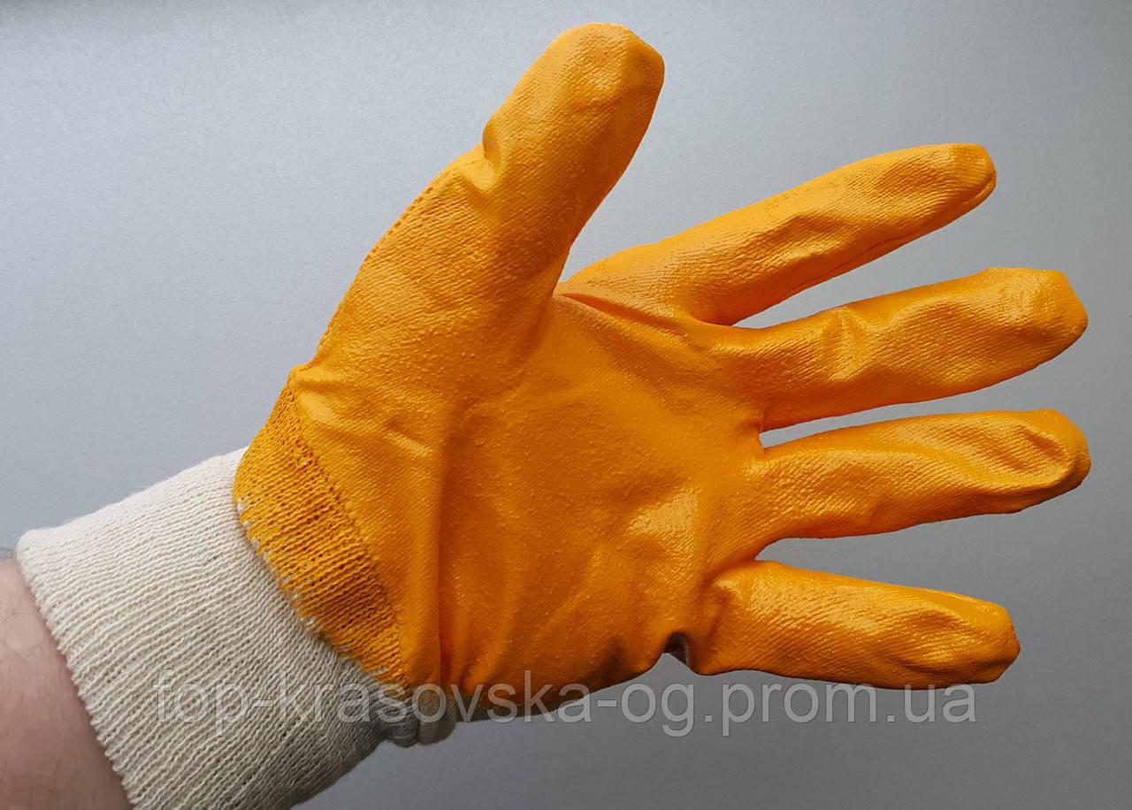 Перчатка МБС нитрил 001 манжет
