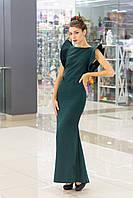 """Коктейльное платье из креппа  """"Da Vinchi"""", фото 1"""