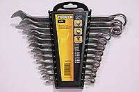 Набор комбинированных ключей рожково-накидных CrV 12шт Toolex 0611212