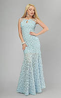 Красивое вечернее платье в пол 3192 (6 цв), платье на выпускной, вечірня сукня