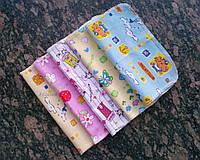 Набор детских носовых платочков, 5 шт., разноцветные, 20*20