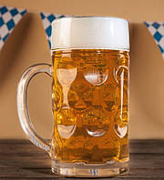 Бокал для пива 1 л Бережанский стеклозавод