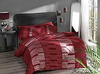 Постельное белье Pierre Cardin сатин Velvet красное двухспального евро размера
