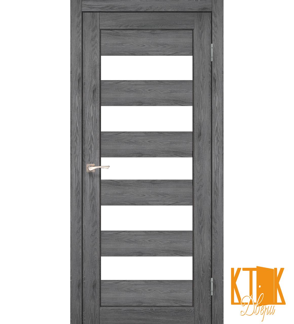 """Межкомнатная дверь коллекции """"Porto"""" PR-08 (дуб марсала)"""