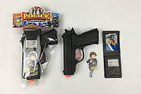 Полицейский набор - пистолет, жетон