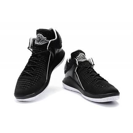 "Кроссовки Jordan XXX|| Low ""Banned"" Black/White черно-белые, фото 2"
