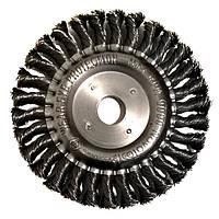 NovoTools Щітка дискова 150х22 мм плетений дріт
