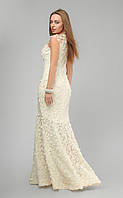 Белое вечернее платье в пол 3192 (6 цв), платье на выпускной,длинное белое платье, вечірня сукня