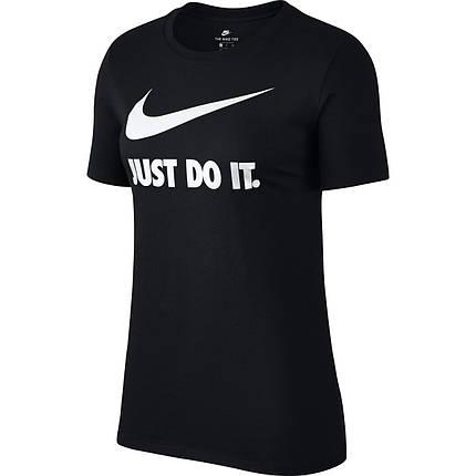 "Футболка женская Nike Sportswear ""Just Do It"" 889403-010 Черный, фото 2"
