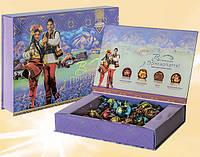 """Шоколадные наборы конфет """"Вітання з Прикарпаття"""""""