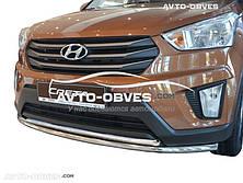 Защита бампера Hyundai Creta 2016 - ... двойной ус
