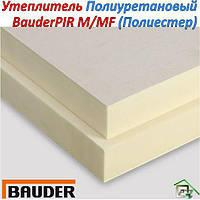 Теплоизоляционная плита BauderPIR M/MF (Флис с Полиестера)