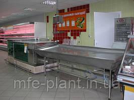 Стол для хранения свежезамороженной рыбы и морепродуктов