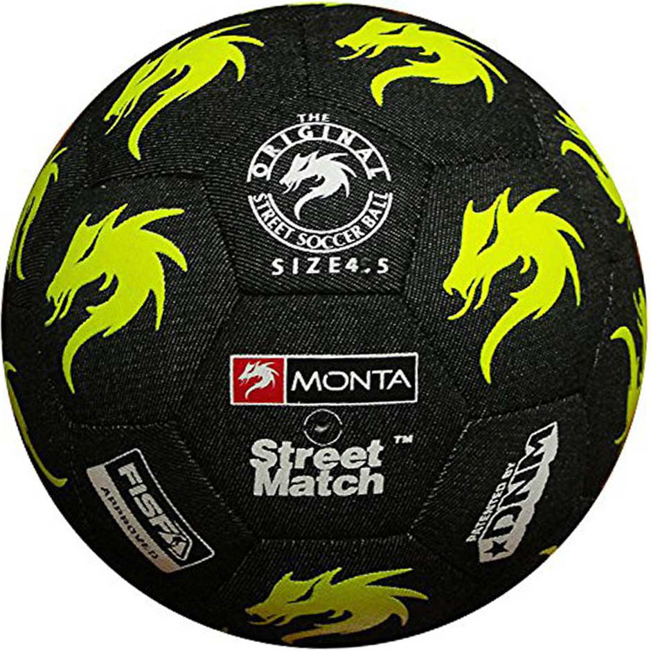 Мяч для уличного фристайла MONTA Streetmatch размер 4,5