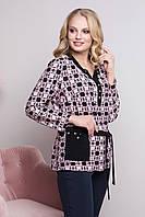 Блуза больших размеров Венеция 50-62р