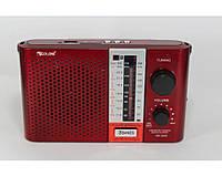 Радіоприймач Golon RX F12 аналоговий, червоний, USB, SD, 3,5 мм, 220В, портативна акустика Golon RX F12