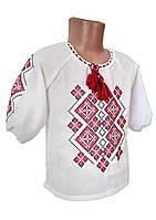 Сорочка вишита для дівчаток домоткане полотно
