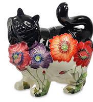 Фарфоровая статуэтка Кошка (Pavone) JP-156/ 8