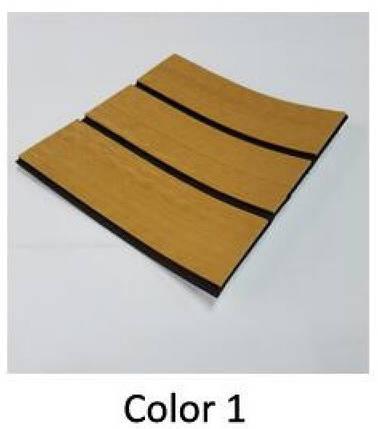 Eva искусcтвенный тик Color 1 (светлый тик, черная полоса), фото 2