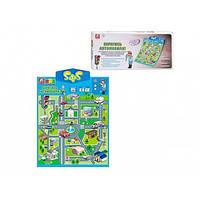 Плакат на батарейці Joy Toy Абетка говорить, у коробці 49х23х4см (українською) 7031
