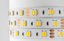 Лента ЛЕД SMD5050 Dual White 12В Двухцветная лента димируемая по яркости и темпиратуре 2700-6500K