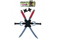 Набор ниндзя - мечи, кинжалы, сюрикены