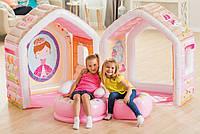 Надувной игровой центр-домик Intex Домик принцессы 48635